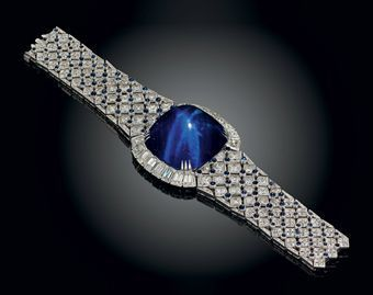Image detail for -An important sapphire and diamond bracelet, by Mouawad. Photo ...