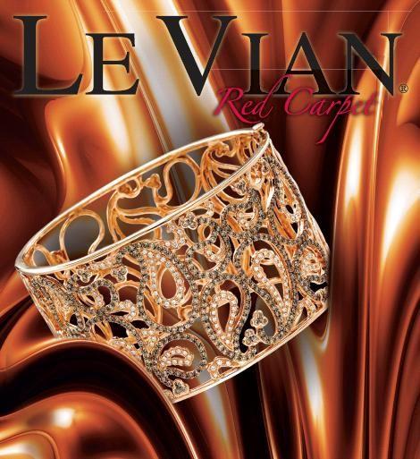 Le Vian Jewelry -chocolate diamond cuff bracelet