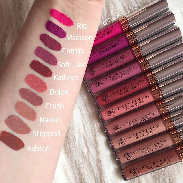 😻New Liquid Lipsticks by Anastasia Beverlyhills & Norvina Schaper ❤️