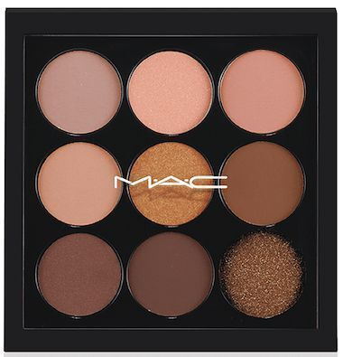 MAC Eyeshadow X9 palette in Amber...beautiful neutrals!