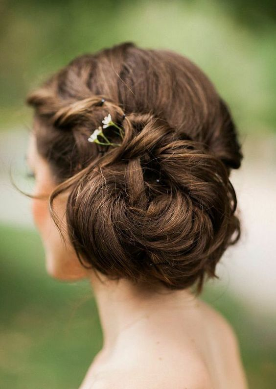 Featured Hairstyle: Fabrice Tranzer Photography; Wedding hairstyle idea.