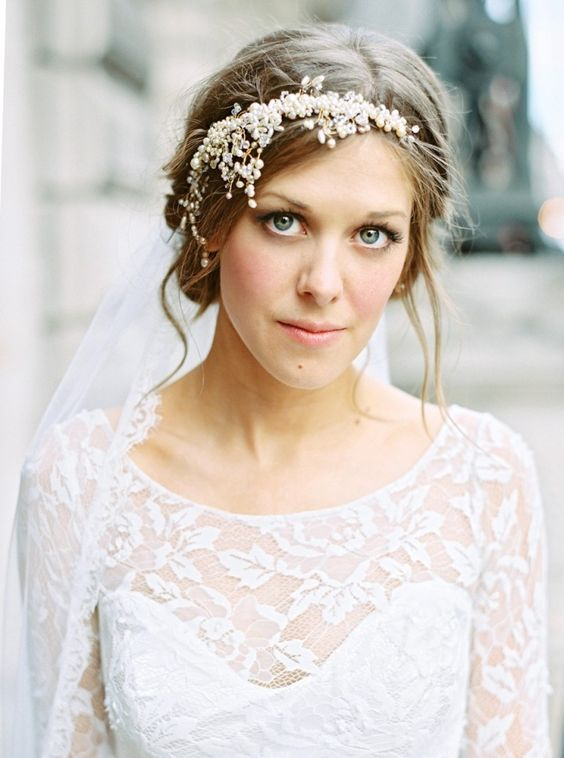 Featured Photographer: Ann-Kathrin Koch Photography; Wedding hairstyle idea.