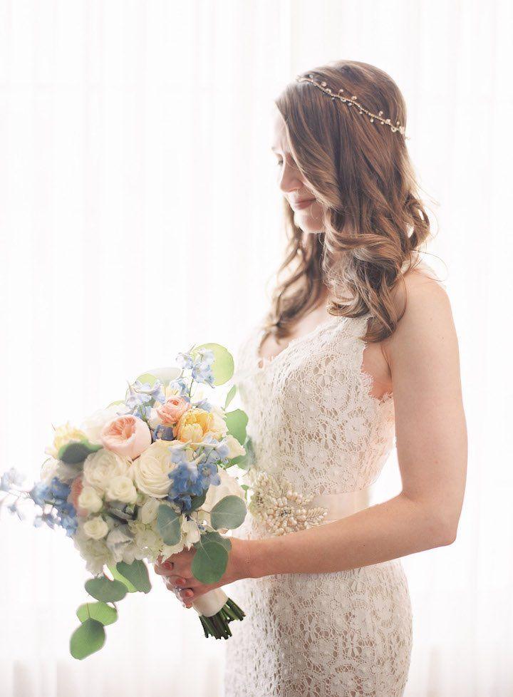 Featured Photographer: Justin DeMutiis Photography; wedding hairstyle idea