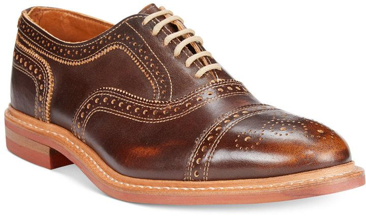 $295, Strandmok Cap Toe Oxfords by Allen Edmonds. Sold by Macy's. Click for more...