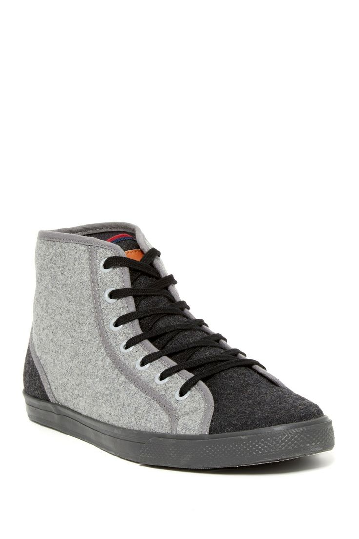 Ben Sherman Breckon Hi Top Sneaker