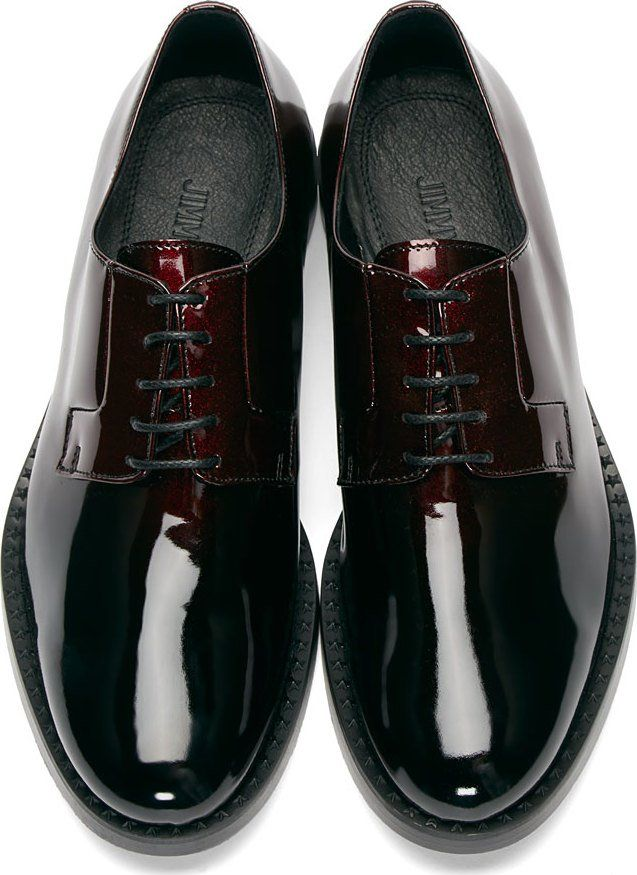 Jimmy Choo Red Gradient Alaric Derbys