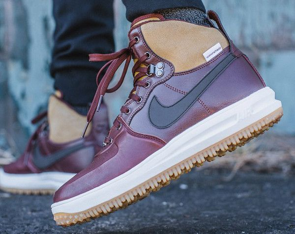 Nike Lunar Force 1 Hi Sneakerboots (Barkroot/Brown)