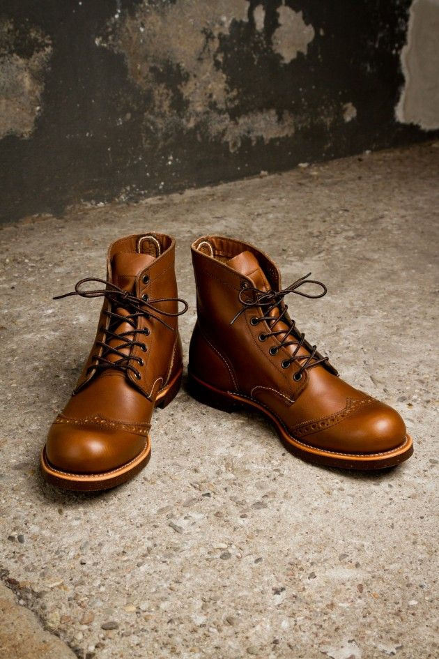 Red Wing Brogue Ranger