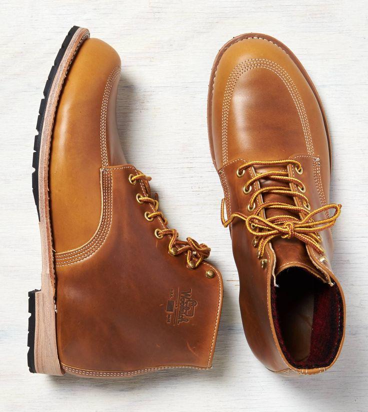 Tan Woolrich Yankee Buck Boot