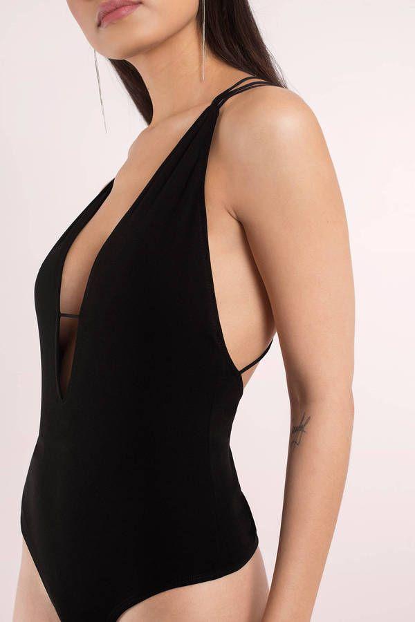 Julia Plunging Bodysuit