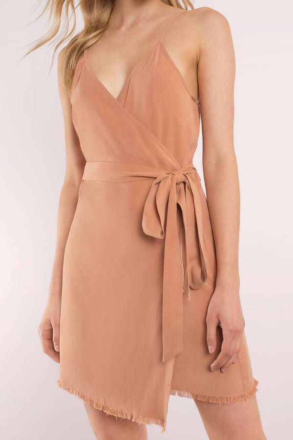 Sunset Daze Wrap Dress