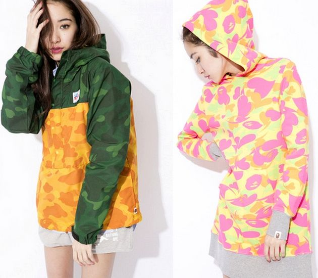 Lookbook Bape – womens collection (Spring/Summer 2014)