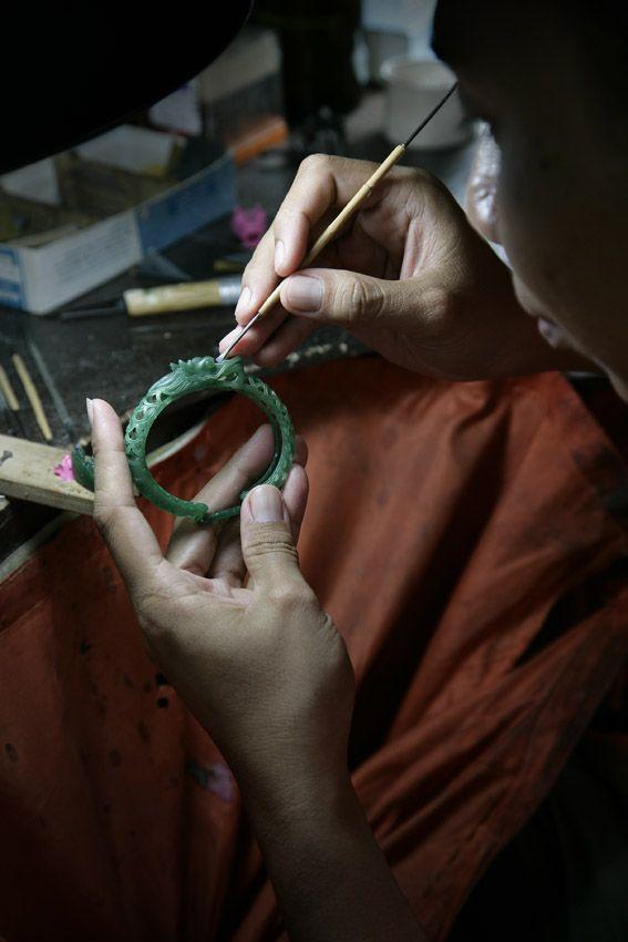 Having originated from hand-drawn designs, each Naga piece goes through a 7-step...