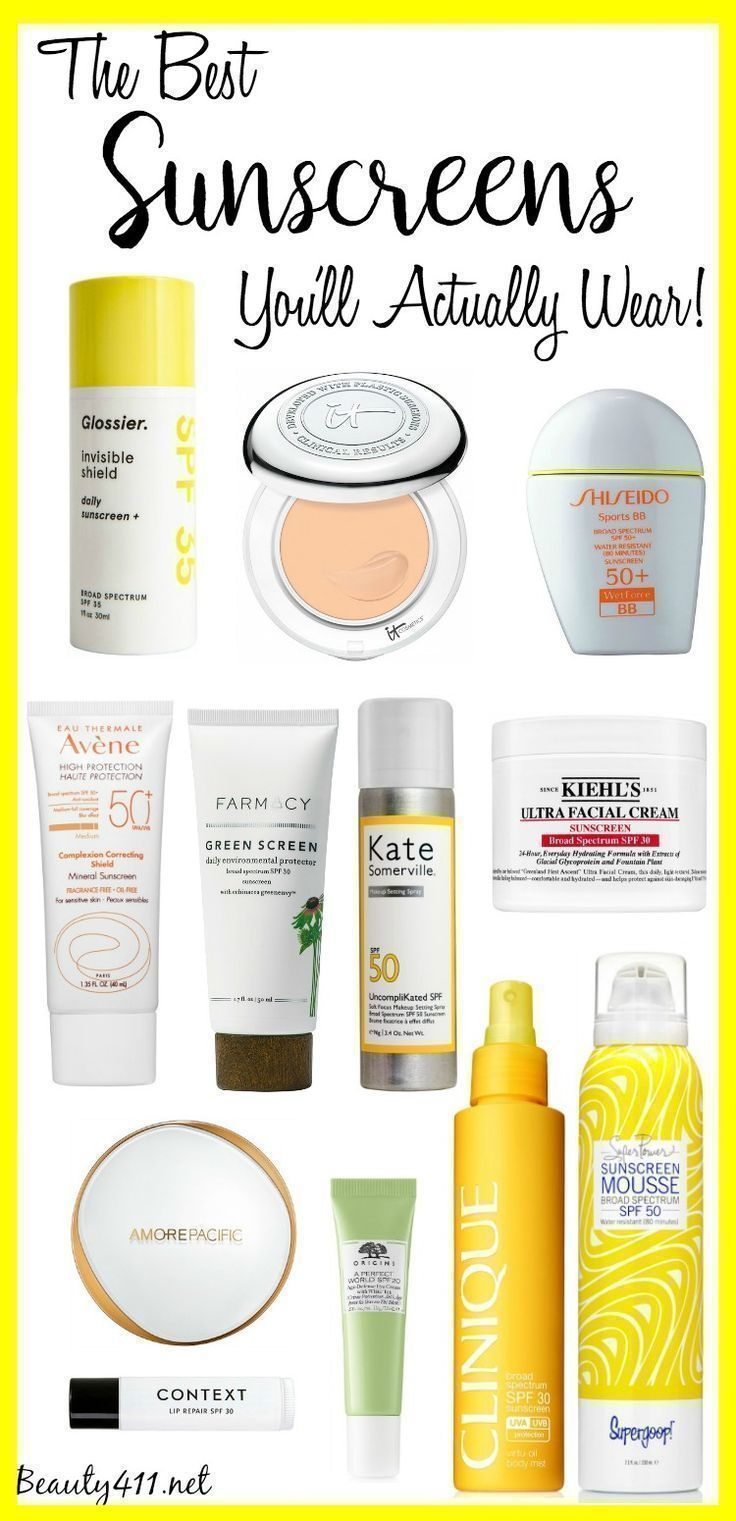 The Best Sunscreens You'll Actually Wear!