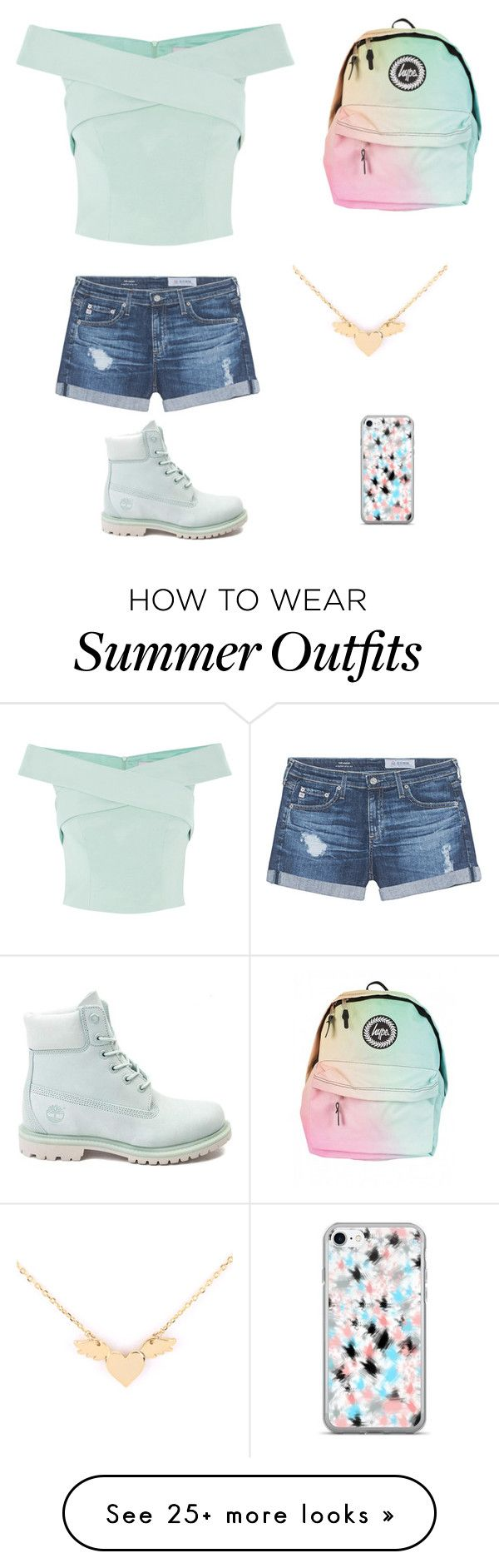 """644b75ebf60 Summer Outfits   """"This is the perfect outfit for summer"""" by peyttontreasure  on Polyvore featuring…"""