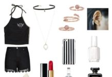"""8ec2ecd101d Summer Outfits   """" black white  colab with Gemma-outfits and don t forget to  follow Gemma-outfits…"""