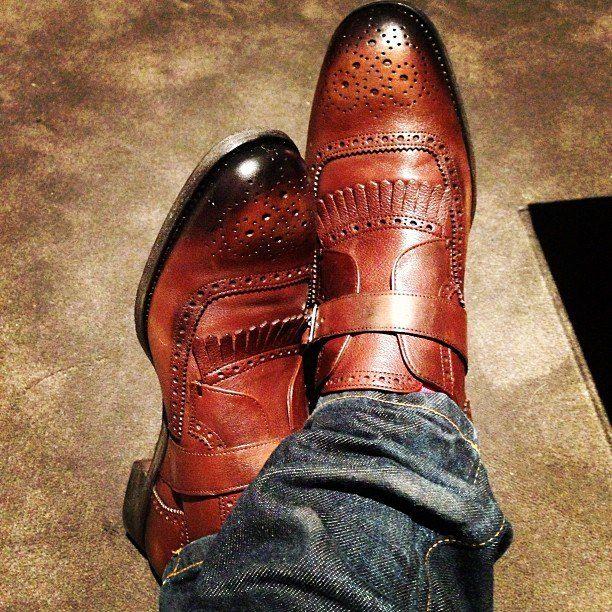 Dapper male Fashion  Classic Sophistication  Dressy Casual  Men's shoes Sera...