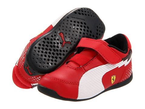 Puma Kids evoSPEED F1 Lo SF V (Infant/Toddler/Youth) Rosso