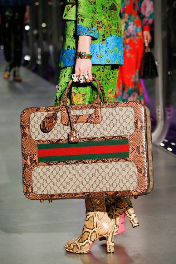 Gucci Fall 2017 Fashion Show & More Details