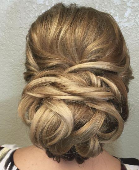 Low Updo Wedding Hairstyle - MODwedding