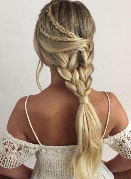 Multi-Braided Wedding Hairstyle by Heidi Marie Garrett - MODwedding