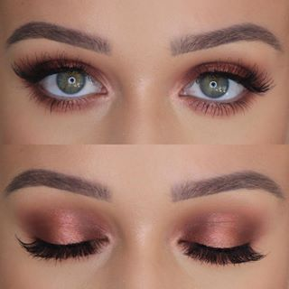 Fall Halo Eye 🍂✨ ---- Anastasia Beverlyhills Brow Wiz Huda Beauty Евге...