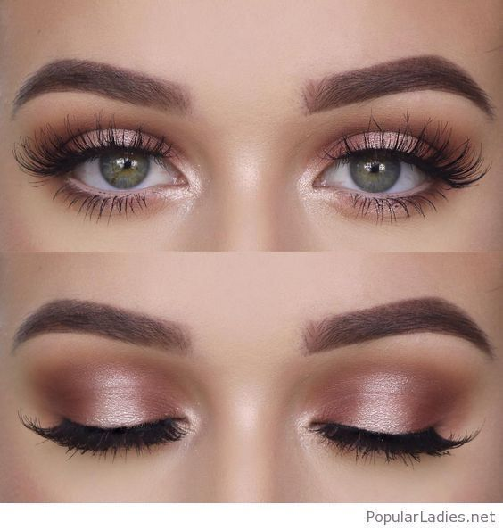 Shimmery and Natural Summer Makeup #naturalmakeup #naturalmakeupideas #naturalma...