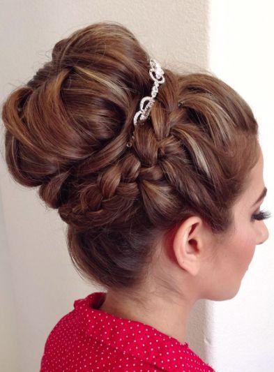 Featured Hairstyle: Heidi Marie Garrett; www.hairandmakeup...