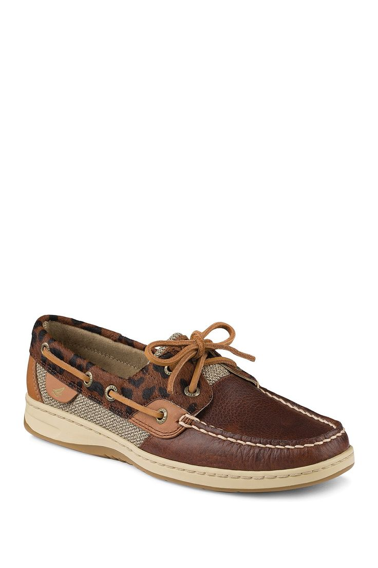 Bluefish Genuine Calf Hair Detail Boat Shoe by Sperry Top-Sider on @nordstrom_ra...