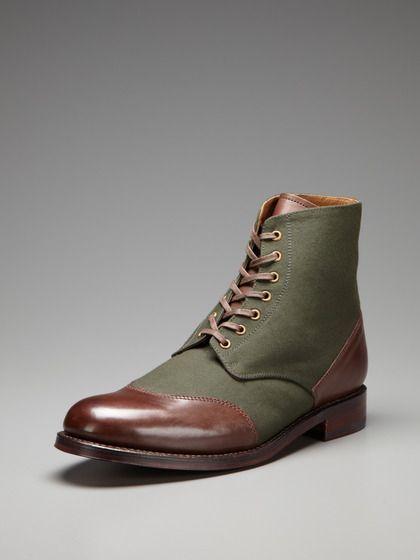 Grenson Glenn Cap Toe Derby Boots