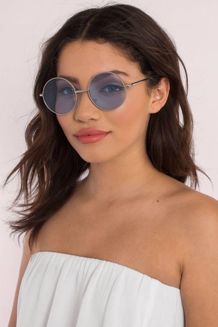 She Speaks Round Sunglasses