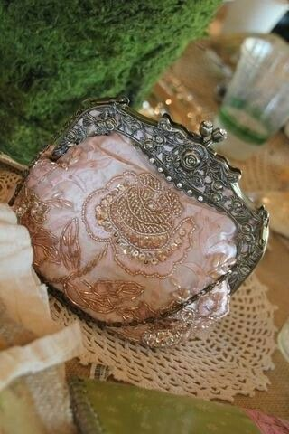Antique French purse