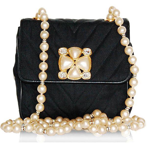 Chanel Vintage Pearl Evening Bag ...
