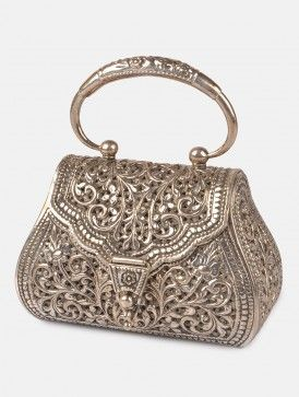 Floral Jaal Purse