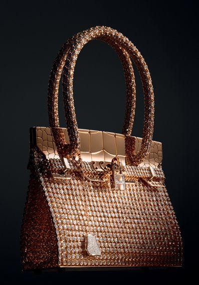 Hermes Birkin Sac with 2,712 diamonds*✧*