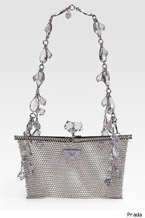 Prada Rete Metal Evening Bag (a favourite repin of VIP Fashion Australia - provi...