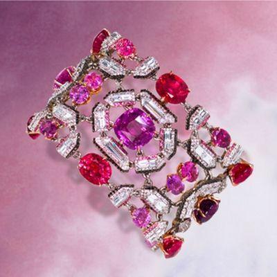 Best Diamond Bracelets : Moussaieff gorgeous gemstone bracelet