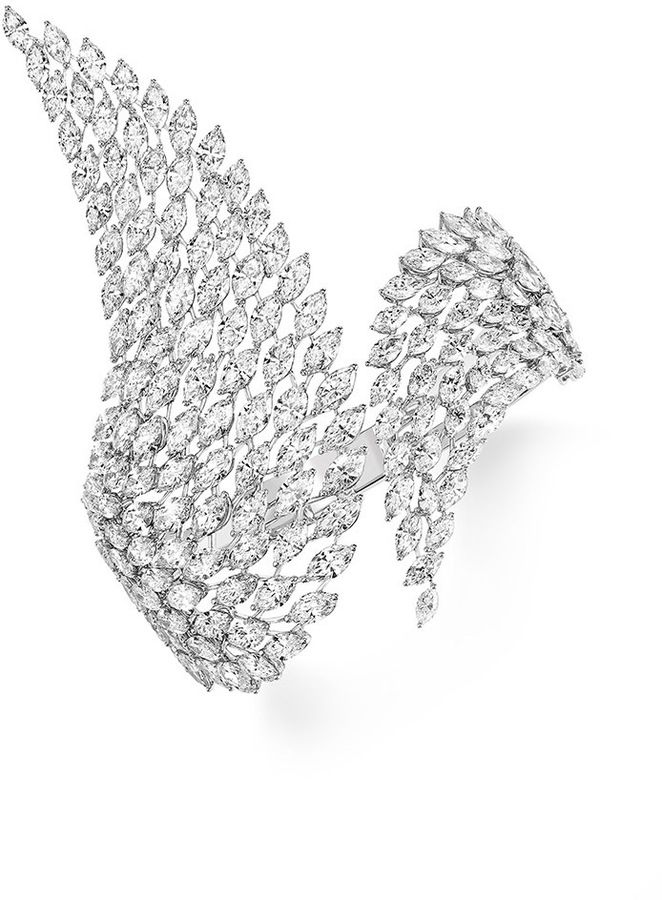 Messika Swan Diamond Bracelet