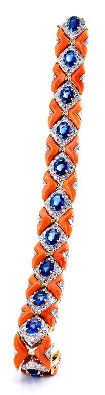 Sapphire Bracelet, Personalized Bangle Bracelet Set, September Birthday Gift.