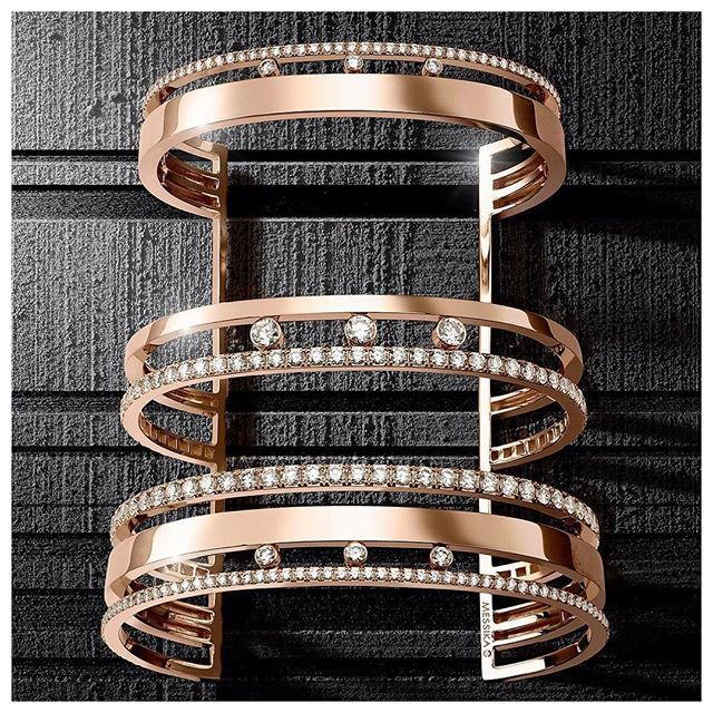 The Move Romane cuff, a new version of Messika's iconic collection. #Messikajewe...