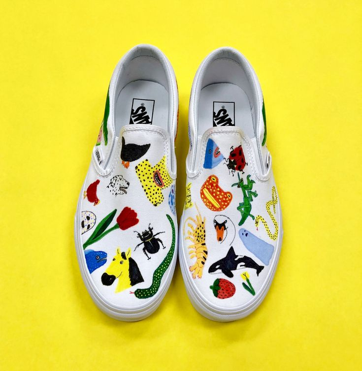 These Vans were created by Vans Custom Culture ambassador Lorien Stern to inspir...
