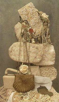 I use my collection of this style handbags for added sparkle under my formal liv...