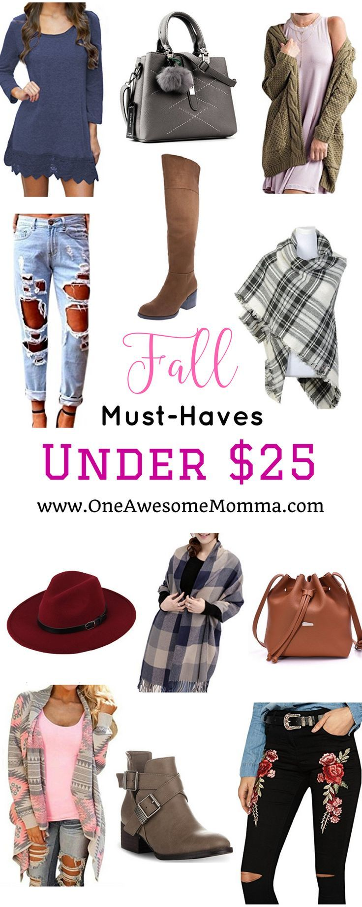 Fall Must-Haves Under $25