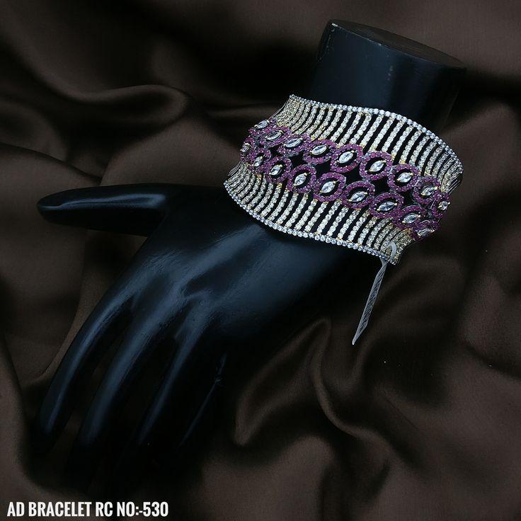 American Diamond Party Wear Bracelet.