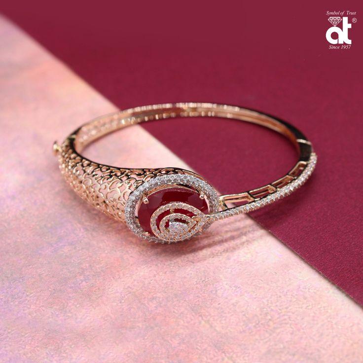 Diamond bracelet @AT Jewellers