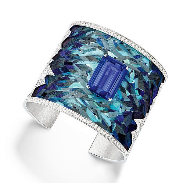 Pretty Fly! Piaget's Sunlight Escape Feather Cuff