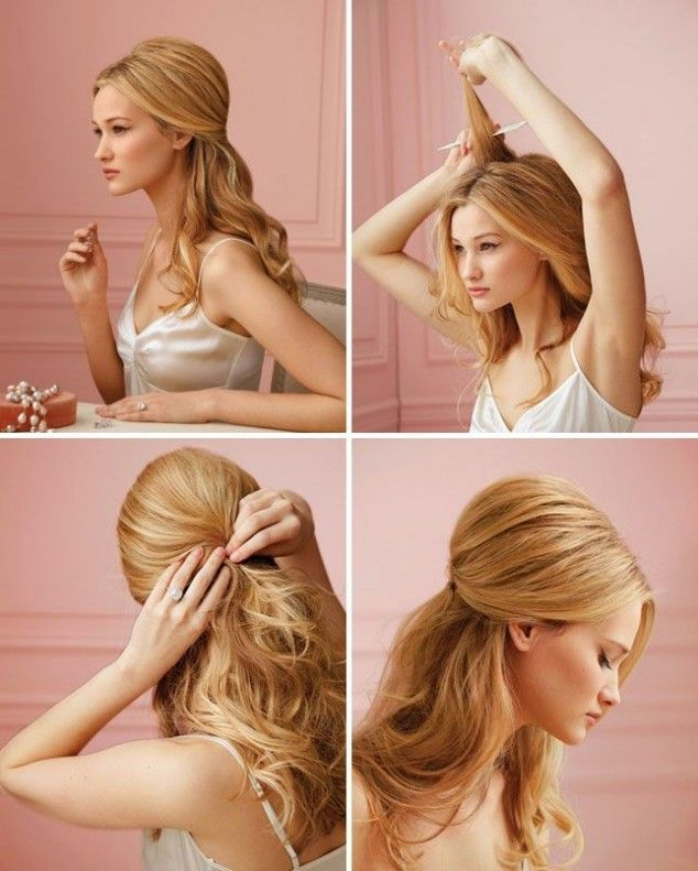15 Stylish Half up Half down Tutorials