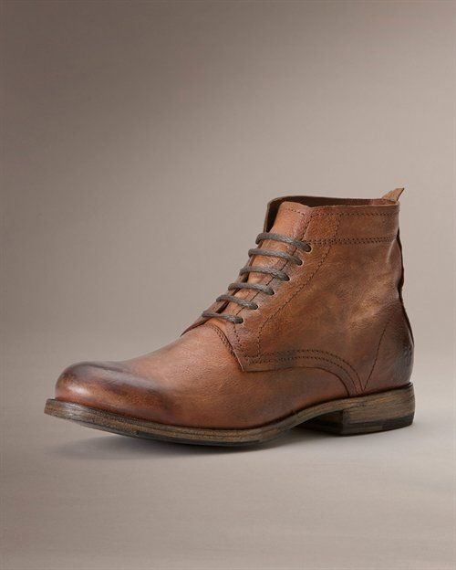 Johnny Lace Up - View All Mens Boots - Western Boots, Harness Boots,  More - The...