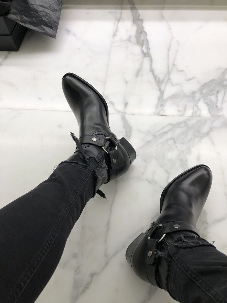 YSL Harness boots