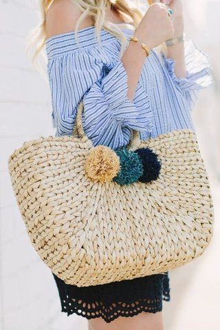 21 Photos of Straw Bags to Show You Why They're Perfect for Summer